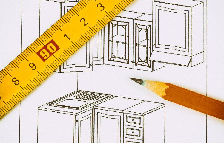 Услуга замера мебели