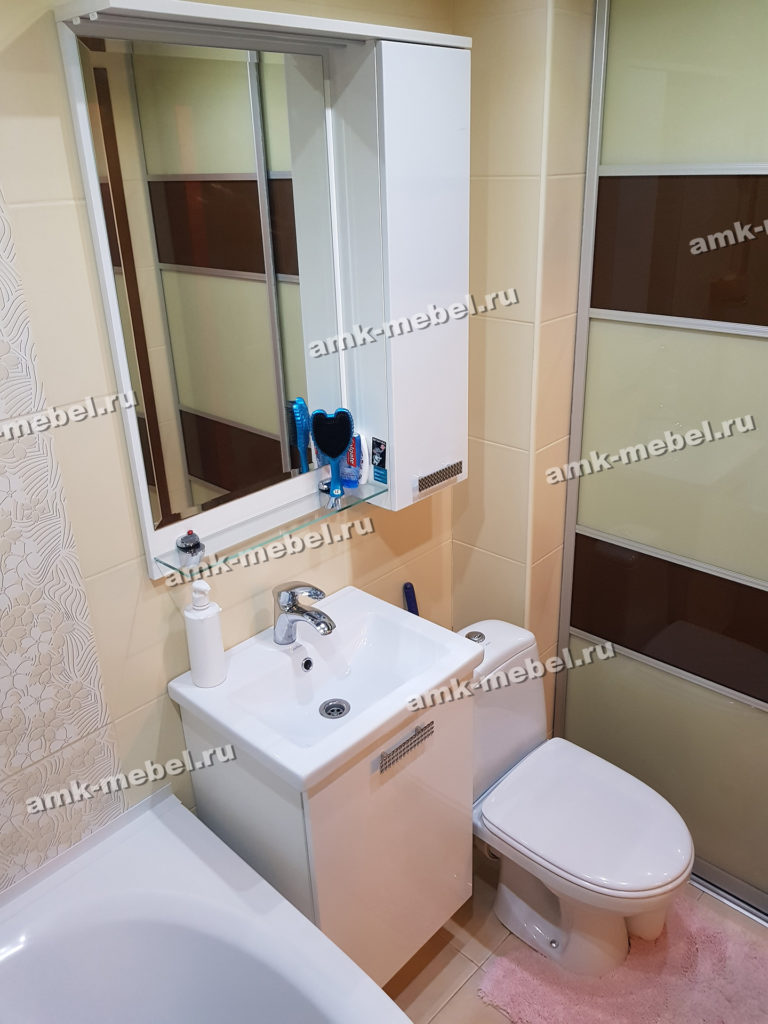 Мебель для ванных комнат вариант 1