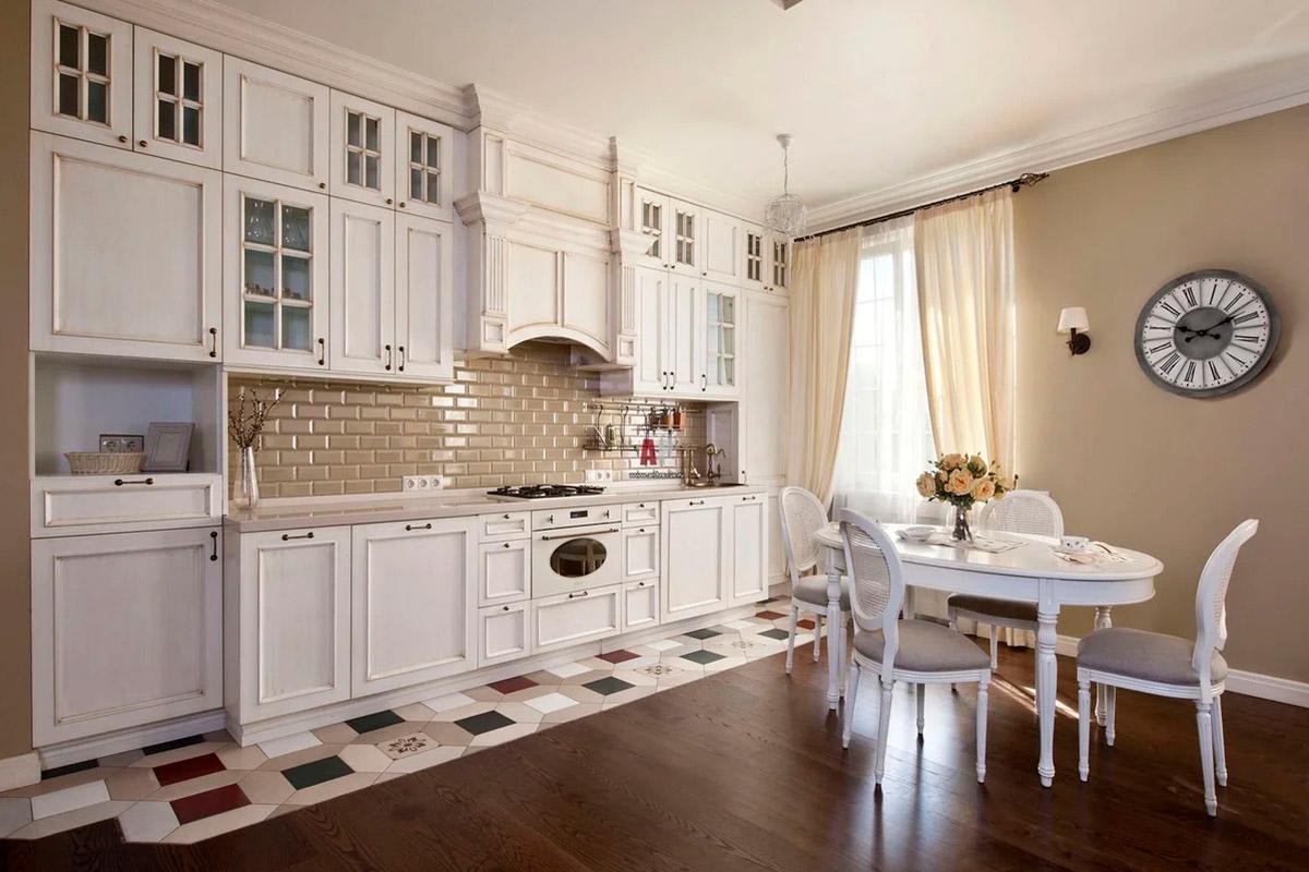 Кухня в стиле Прованс в Донецке от AMK group
