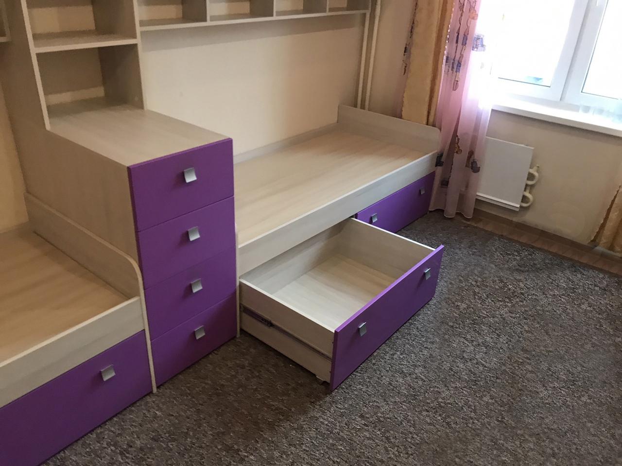 Мебель в детскую «PURPLE»