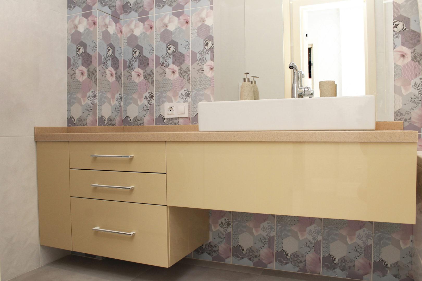 Мебель в ванную комнату «Beige Color»