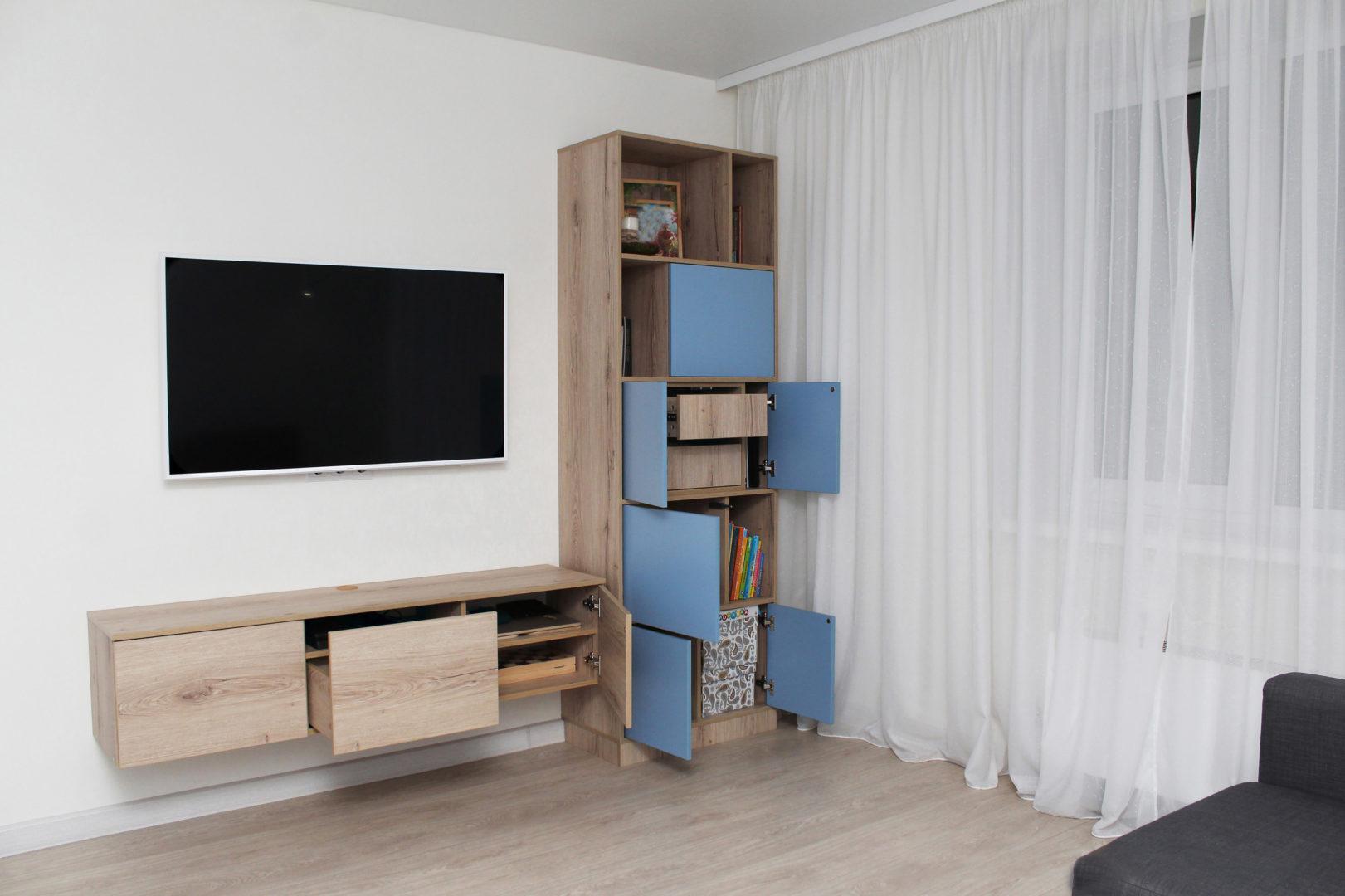 Мебель в гостиную «Blue-Ivy»